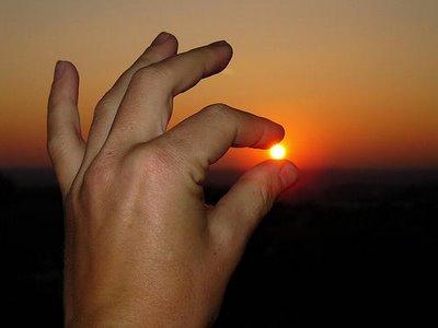 Holding the sun 1