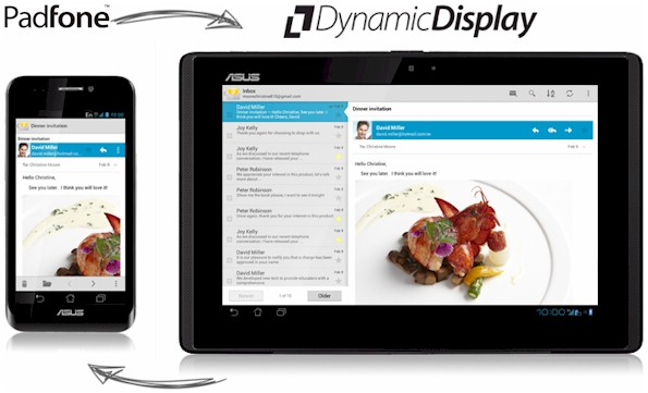 Asus PadFone Dynamic Display