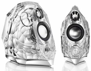 Harman Kardon GLA-55 glass speakers