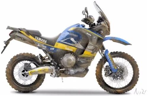 Yamaha XT900Z Tenere concept