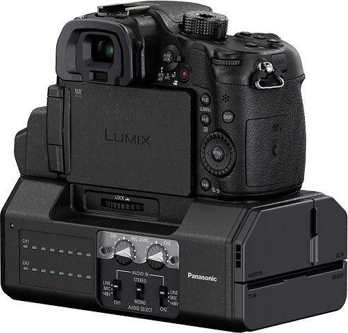 Panasonic Lumix GH4 loaded