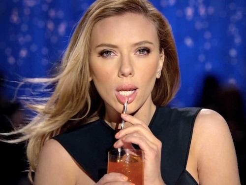 Scarlett Johansson SodaStream commercial