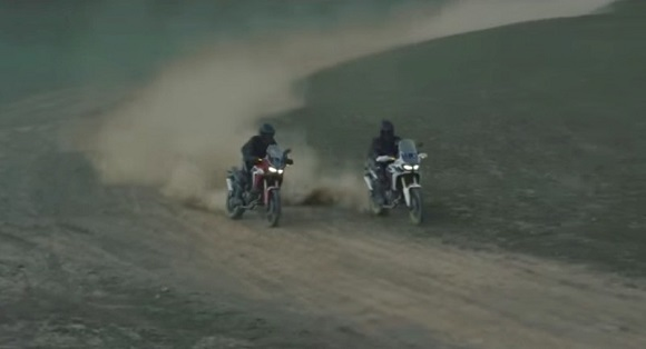 Honda Africa Twin screenshot