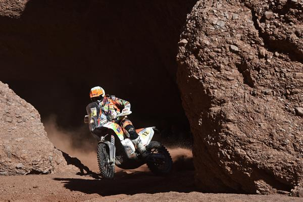Laia Sanz KTM 450 RALLY Dakar 2016