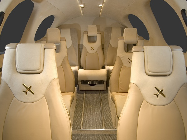 Cirrus Vision SF50 interior