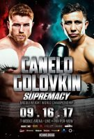 Golovkin vs Canelo poster