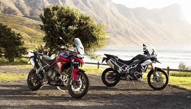 Triumph Tiger 900 GT and Rally