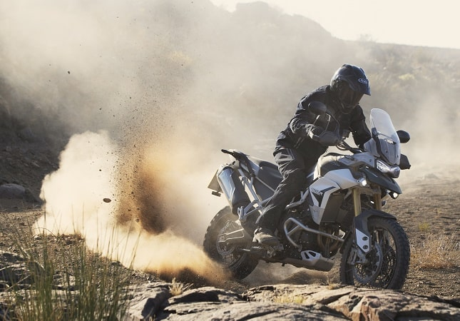 Triumph Tiger 900 Rally Pro in action