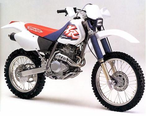 Nice Honda XR250R